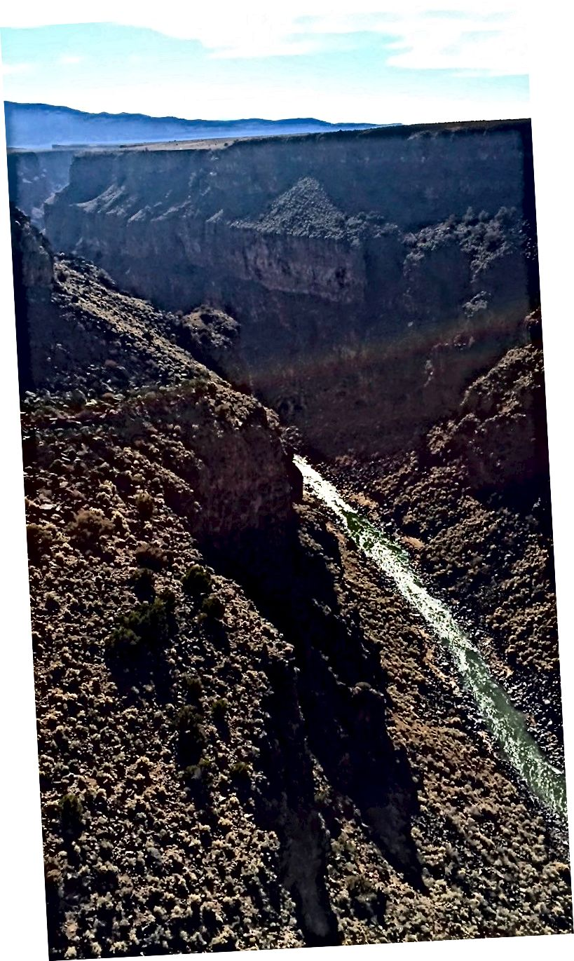 Изглед от моста на Даосовото дефиле, 16.12.1990г
