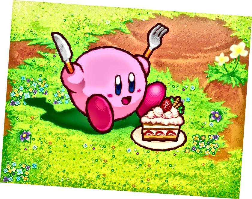Kirby, okamžiky před incidentem.