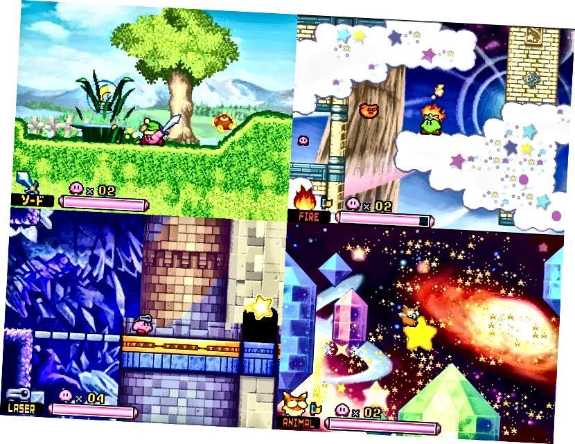 Některé z vizuálně příjemnějších oblastí v Squeak Squad.
