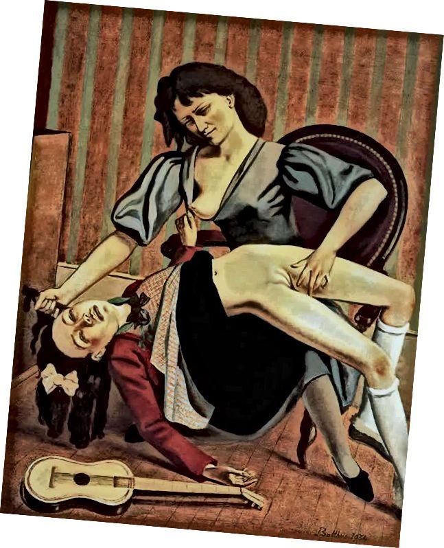 'Gitara Dərsi', 1934.