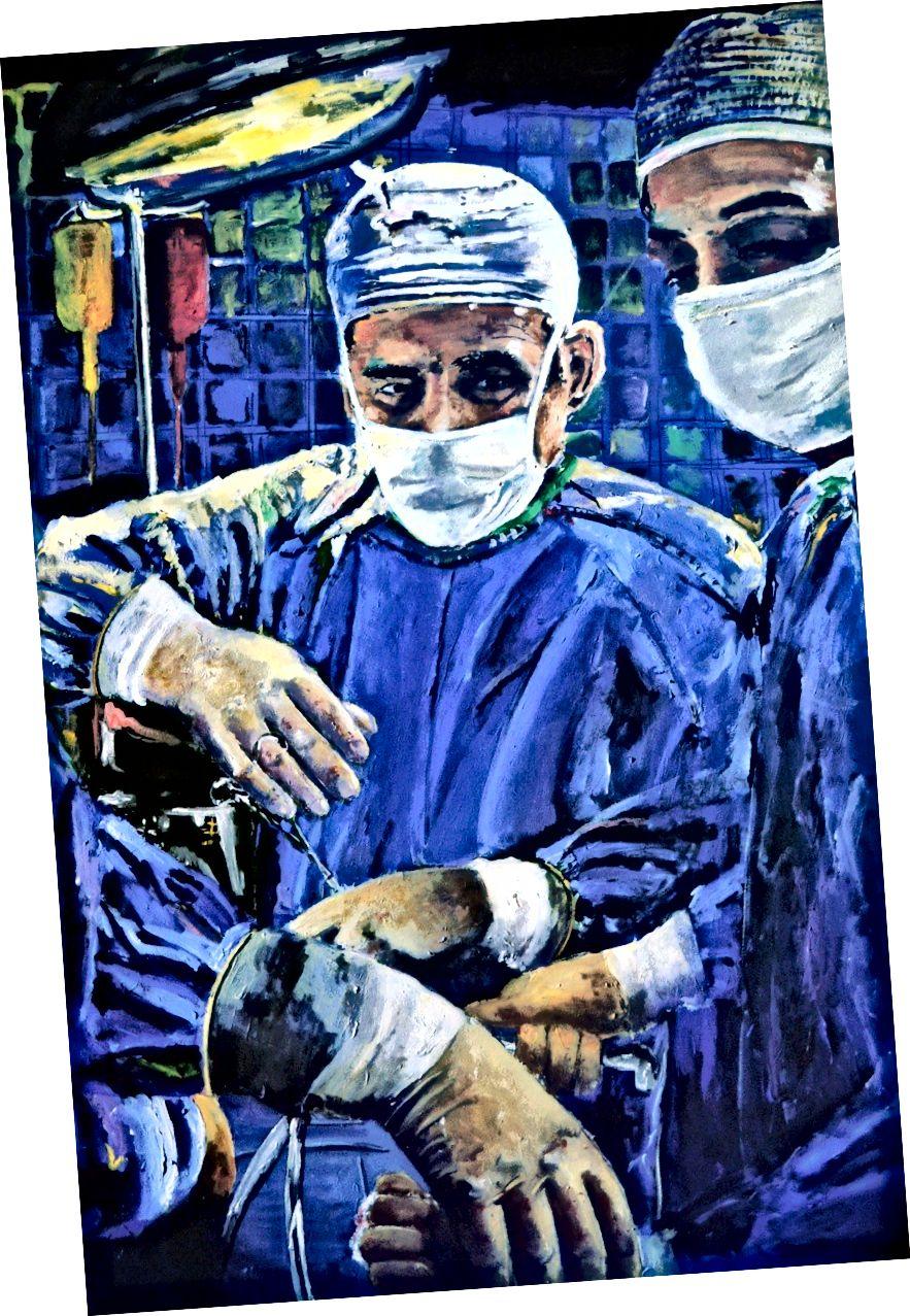 Srdeční chirurgie od Joe Wildera