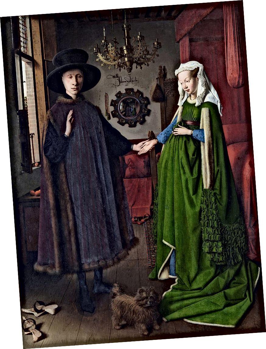 Arnolfini-Porträt (1434) von Jan van Eyck
