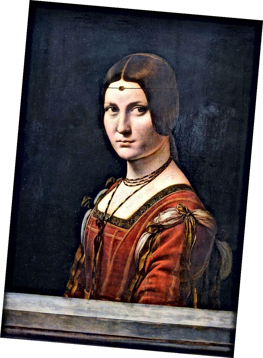 La belle ferronnière (1490–1496) von Leonardo da Vinci