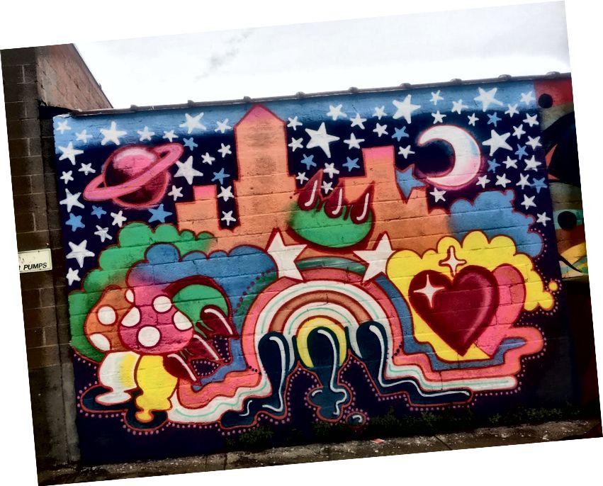 Bronx-Wandbild von Claw Money.