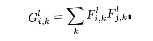 Gramova maticová rovnice