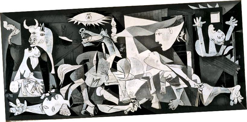 Guernica, 1937. (Справедлива употреба. Източник: Wikipedia)