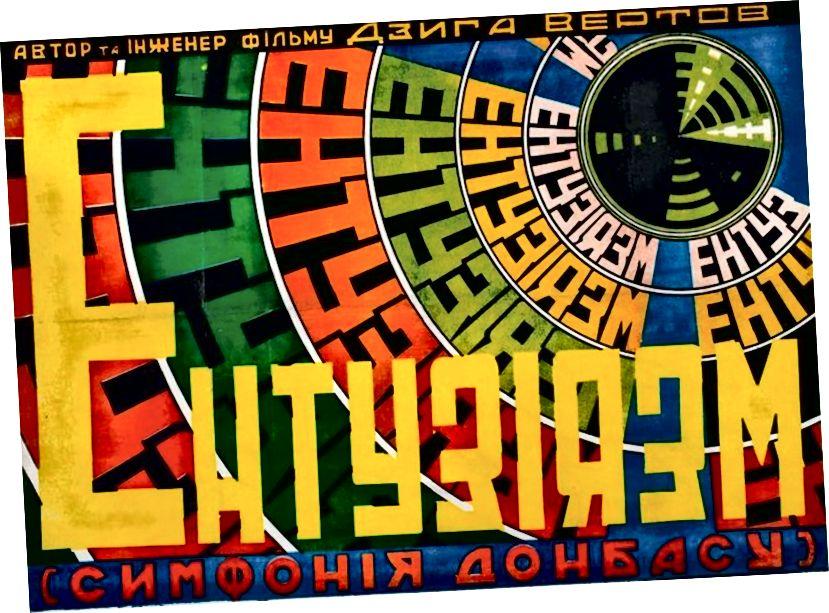 Dziga Vertov: Enthousiasm: Donbas simfoniyası - 1931
