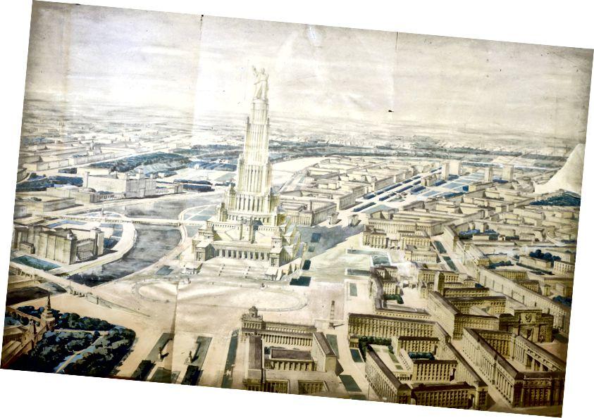 Boris İofan: Sovetlər Sarayı - 1931-1941