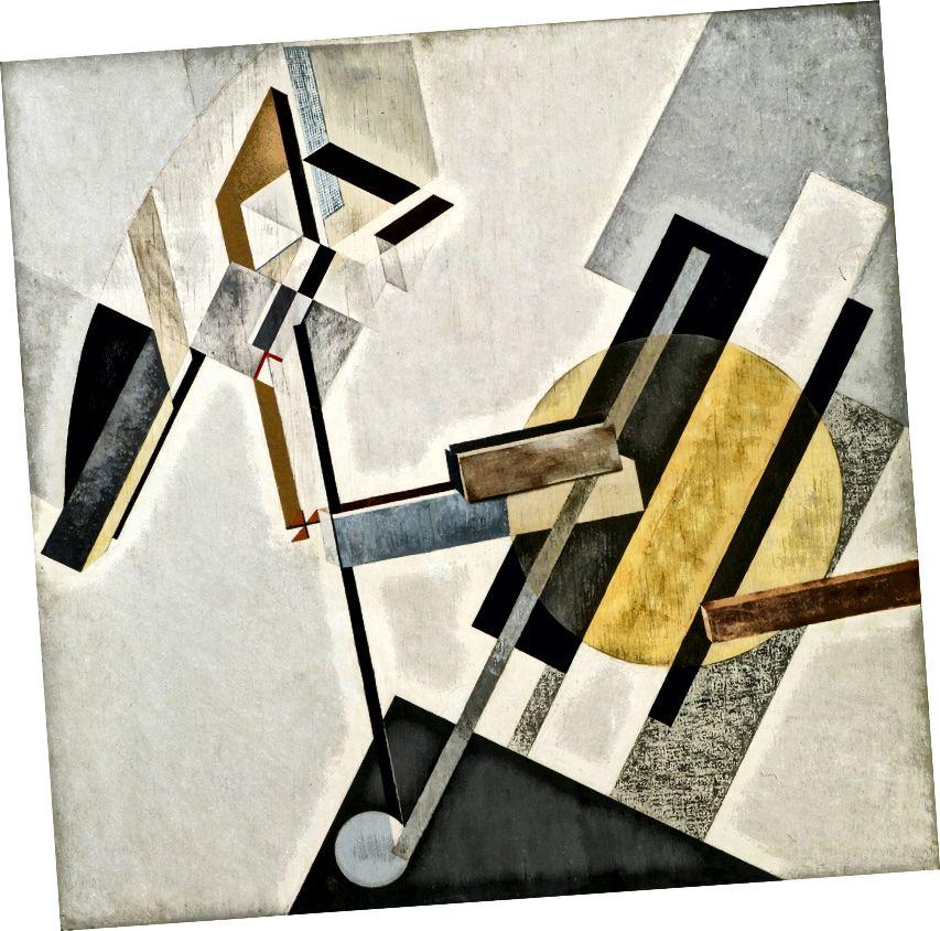 El Lissitzky: Proun 19D - 1920