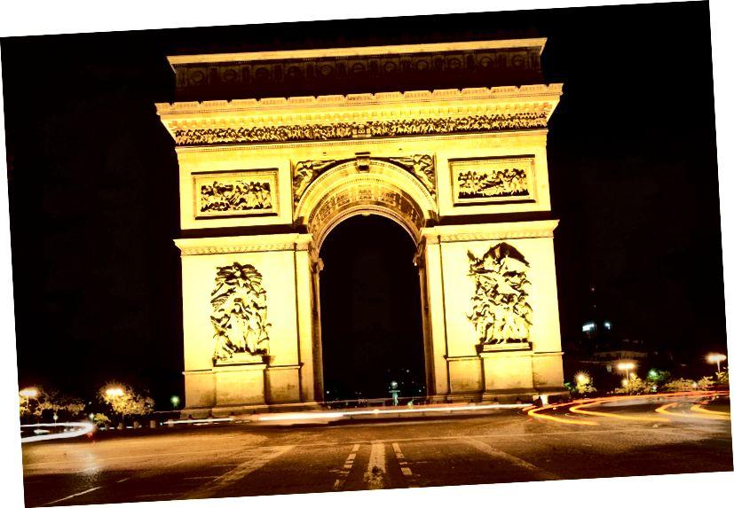 Ժան Չալգրին, Arc de Triomphe (կառուցվել է 1806–36), Փարիզ (Ֆրանսիա): Աղբյուր ՝ Wikimedia Commons.