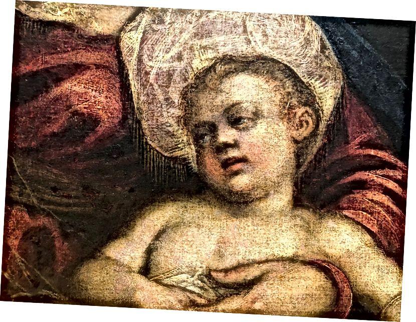 Մադոննան և երեխան (փակել)