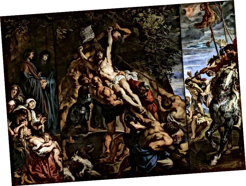 Նկար 7. Խաչելությունը `Տինտորետտո 1565-ի, Սկուոլա Գրանդե դե Սան Ռոկո, Վենետիկ