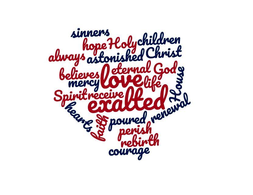 Slovo mrak ze studia Římanů 5: 5