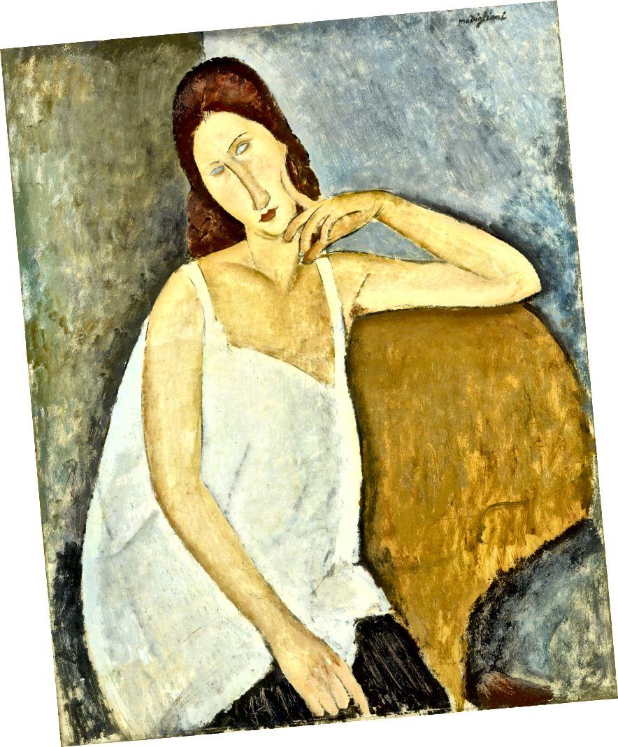 Amedeo Modigliani, Porträt von Jeanne Hébuterne, 1919