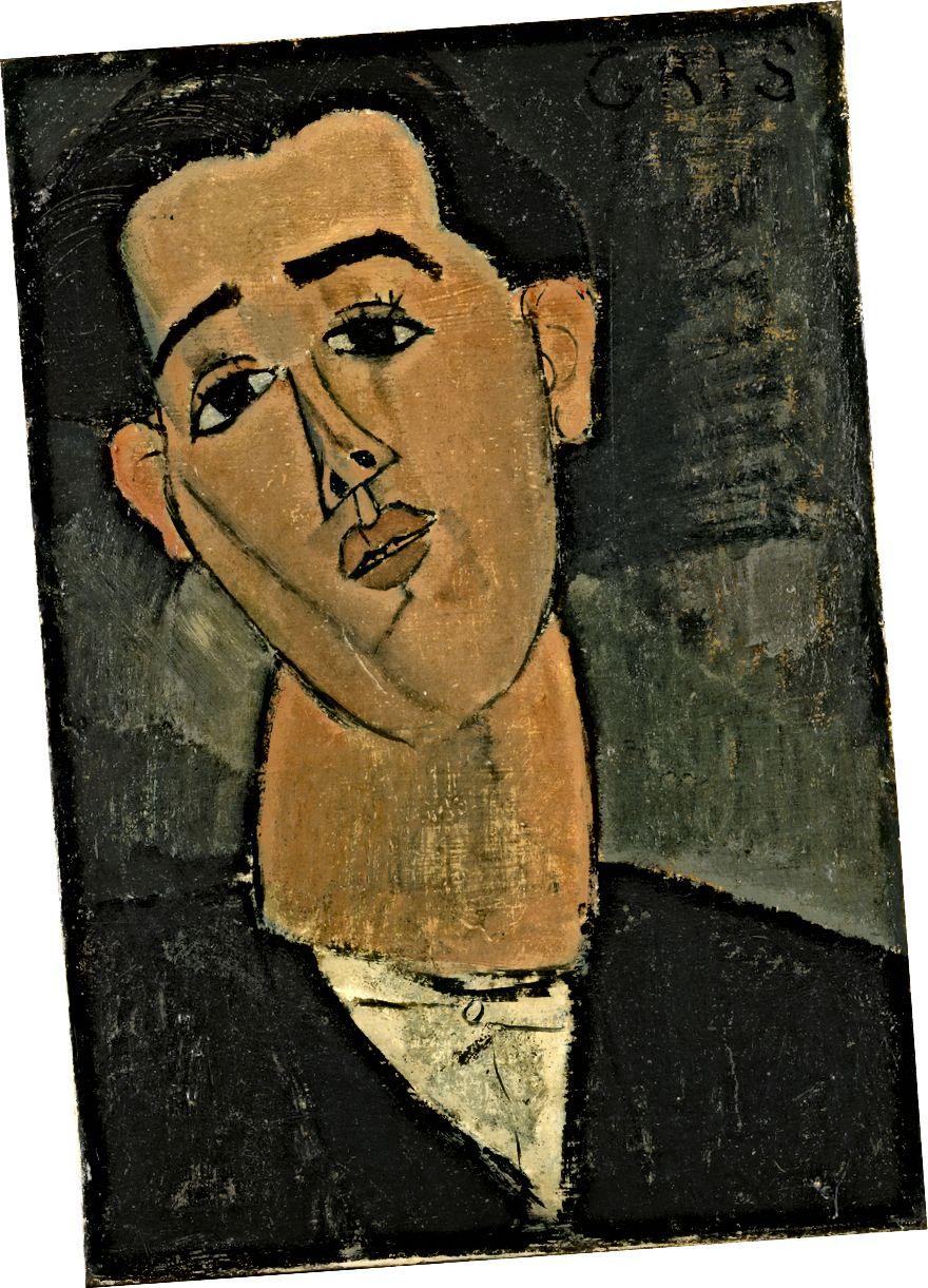 Amedeo Modigliani, Porträt von Juan Gris, 1915