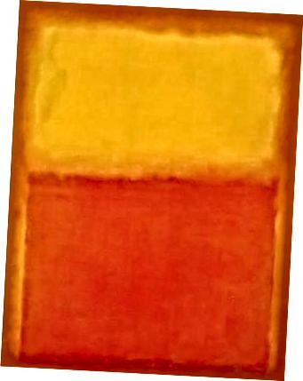 (Նկար 10) Մարկ Ռոթկոյի «Նարնջագույն և դեղին»