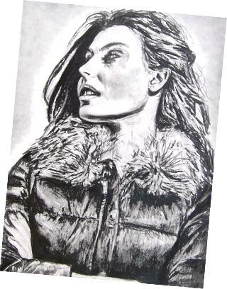 Lizzy Klingen, Grafit, 2009