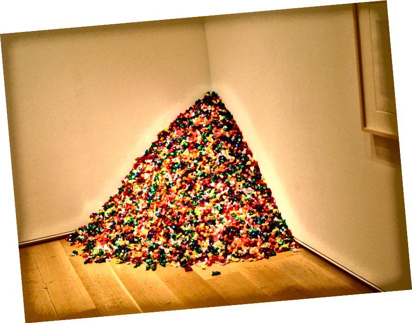 Անվերնագիր հայեցակարգային արվեստ ՝ Felix Gonzalez-Torres Not Gonzalez-Rodriguez