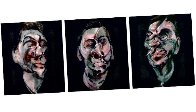 ثلاث دراسات لصورة لجورج داير (1963)