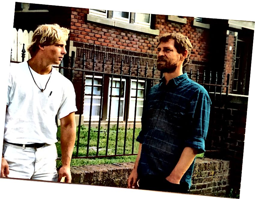 За първи път се срещнах с Кен, баща ми на пътно пътуване, когато бях на 23 години.