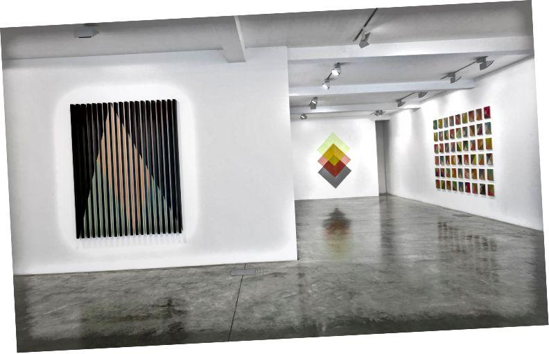 Rana Begums Einzelausstellung The Space Between in der Parasol Unit in London