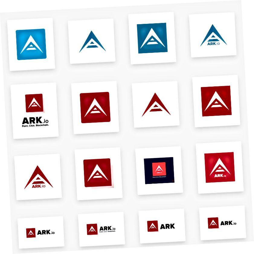 Նախագծերը հաճախ ունեն բազմաթիվ ռեսուրսներ, ինչպիսիք են Logos- ը իրենց Media Kit- ում օգտագործելու համար