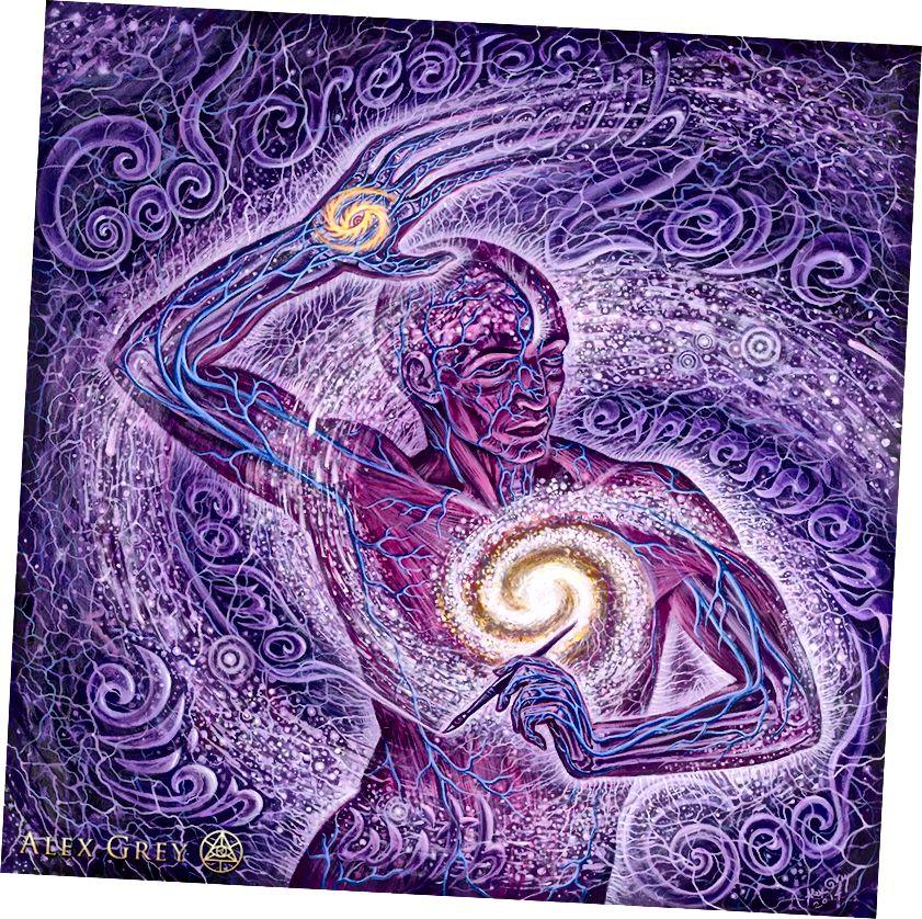 Տիեզերական արտիստ - Ալեքս Գրեյ