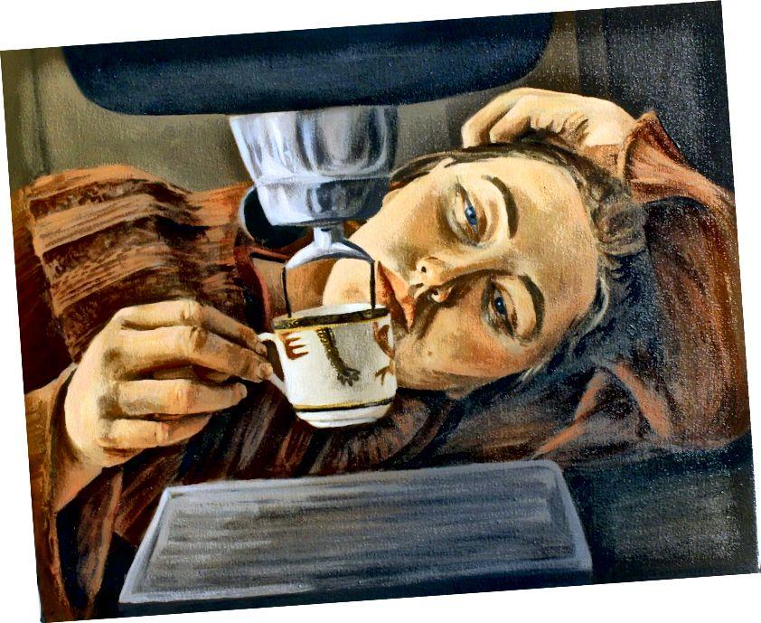 maľba Alexa Jabora