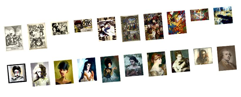 Weitere Beispiele für Kunstleitern