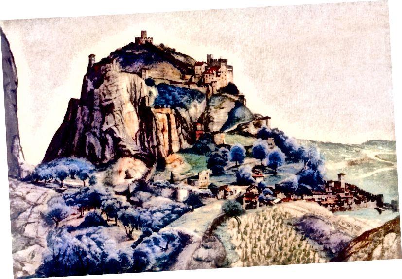 Pevnost Albrechta Durera na velkém úbočí kopce, 1500 - Buyenlarge / Getty Images