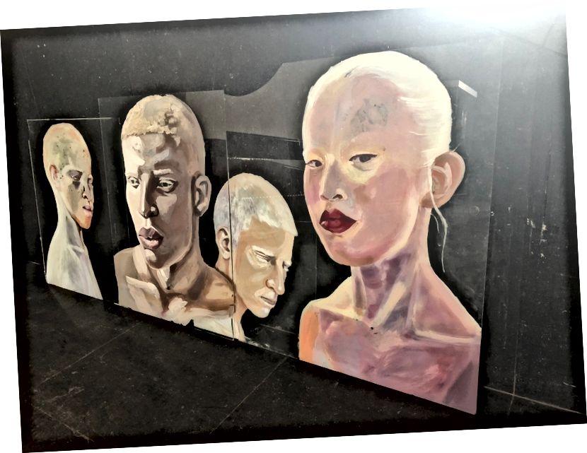 Absa Sissoko-nun sənət əsərləri © Jurgen Walschot