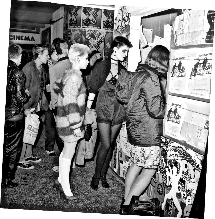 Das Publikum bei der Prostitution Show