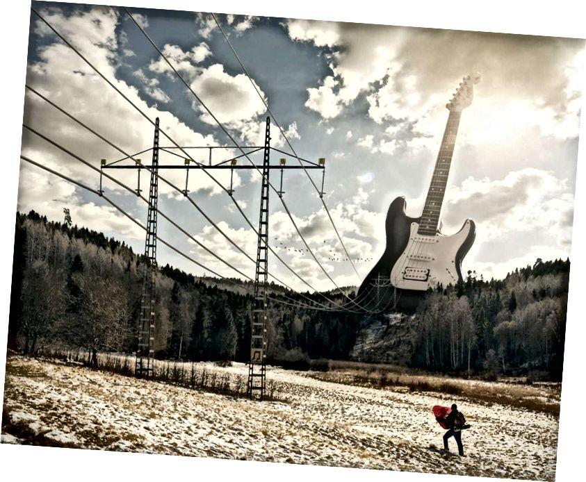 Elektrická kytara / Erik Johansson