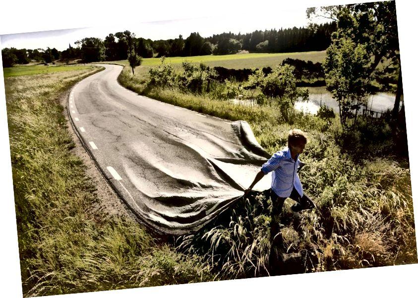 Jděte svou vlastní cestou / Erik Johansson