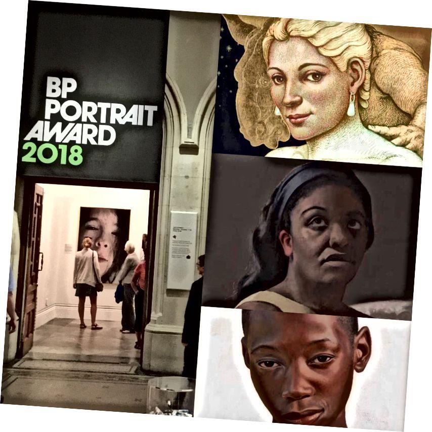 Şəkillər: Michael Bergt tərəfindən sağdakı sağ çevrilmə; mərkəz Miranda Meghan Cox; alt Huit Glynn-Jones tərəfindən Shitima'dan Gifty Portret