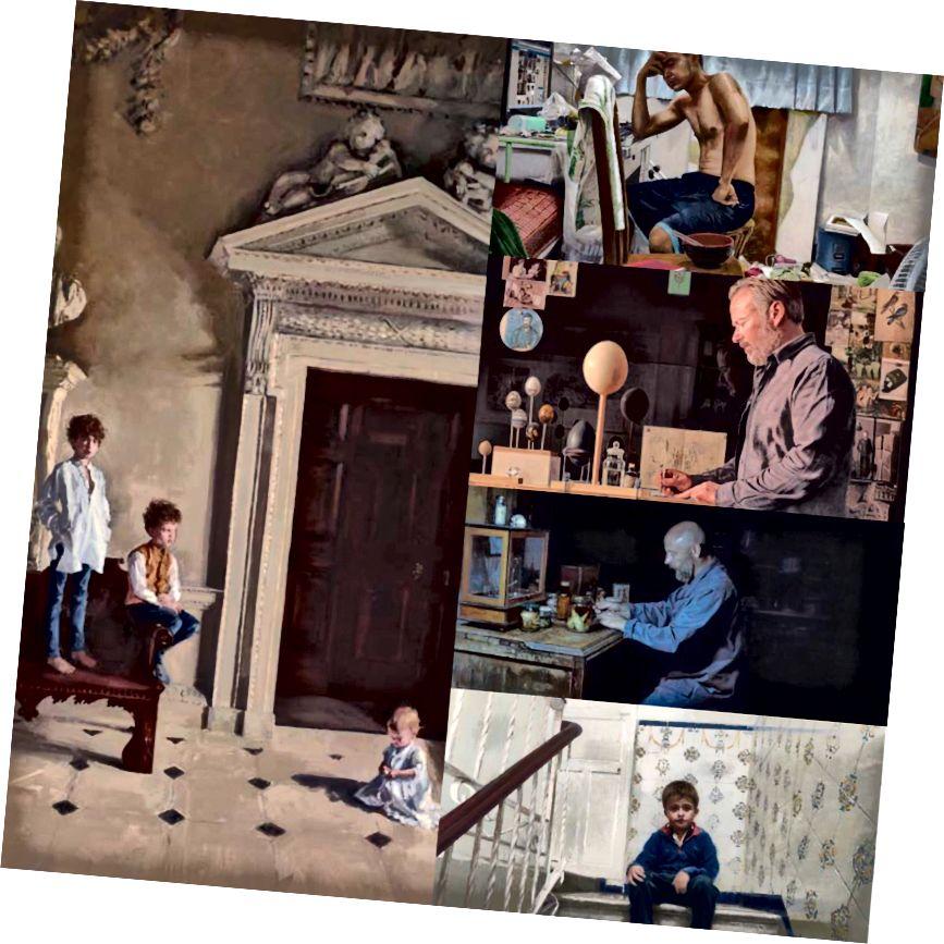 Soldan görünən şəkillər: Phoebe Dickinson tərəfindən Cholmondeley uşaqları; yuxarıdan yuxarı: Ziqiang, Chunchieh Huang tərəfindən, JJ (Jeremy) Delvine tərəfindən Oolograpfer (araşdırmasında), Migel Angel Moya tərəfindən bioloq, Fermin G. Villaescusa tərəfindən pilləkənin sonunda
