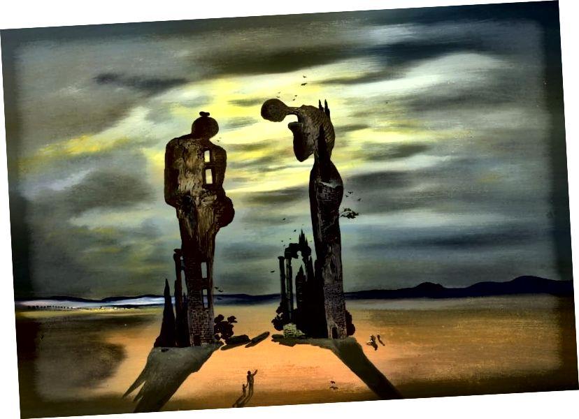 Salvador Dali war von Millets Angelus besessen und produzierte seine eigenen surrealistischen Variationen des Gemäldes. Eine Kopie des Originals soll vor einem seiner Schulklassenräume aufgehängt haben. Dali las viele Bedeutungen in das Gemälde ein, insbesondere eine versteckte sexuelle Spannung, aber auch ein großes Gefühl der Tragödie. Er behauptete, das Paar trauere um ein totes Kind und bestand darauf, dass der Louvre das Gemälde röntgte, um seine Theorie zu beweisen.