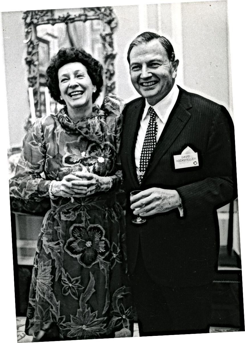 Դեյվիդ և Պեգի Ռոքֆելլեր, վերջին պատմության ամենաառաջնային հավաքածուներից երկուսը: