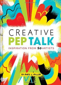 Ստեղծագործ Pep Pep Talk գիրքը