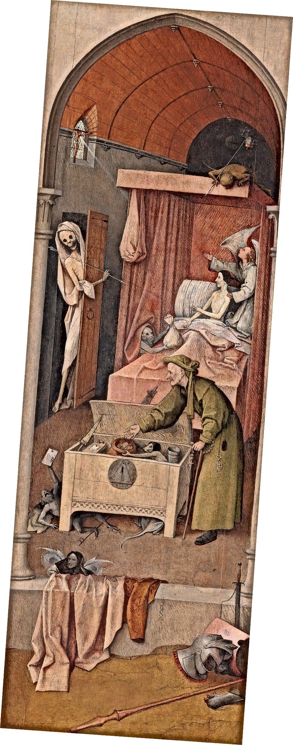 «Մահը և թշվառությունը», Վագաբոնդ Տրիպտիչի (4) մասը, 1500-1510թթ., Ազգային պատկերասրահ