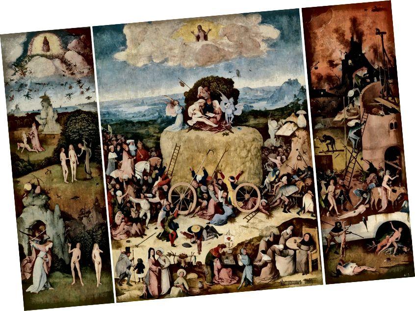 «The Haywain Triptych», Մուսեո դել Պրադո