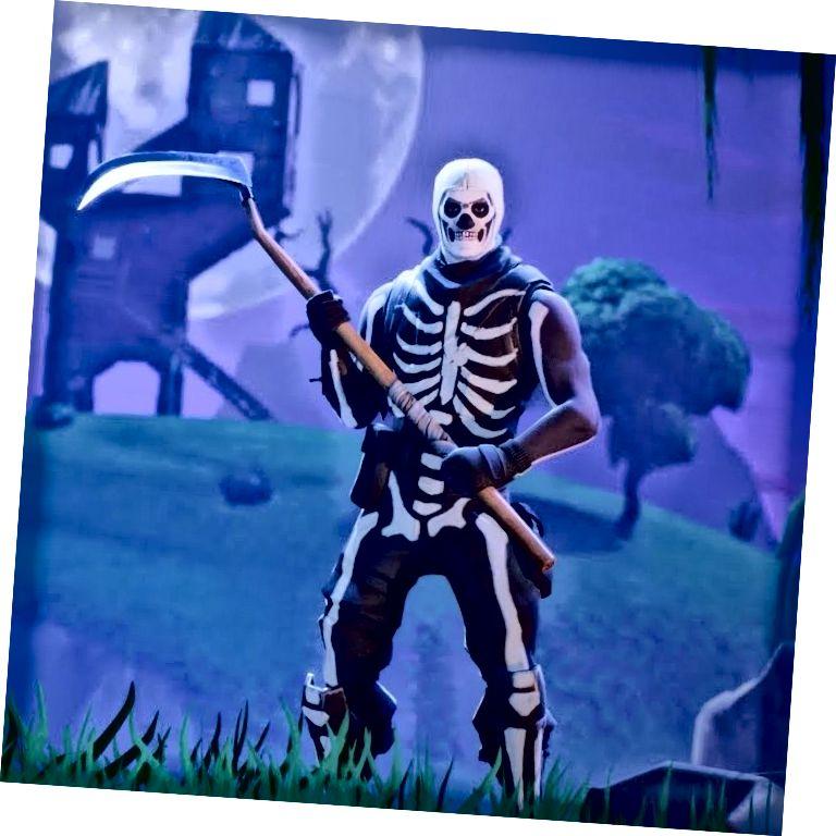 স্কাল ট্রুপার ফোর্টনাইট স্কিন, ছবি: www.usgamer.net