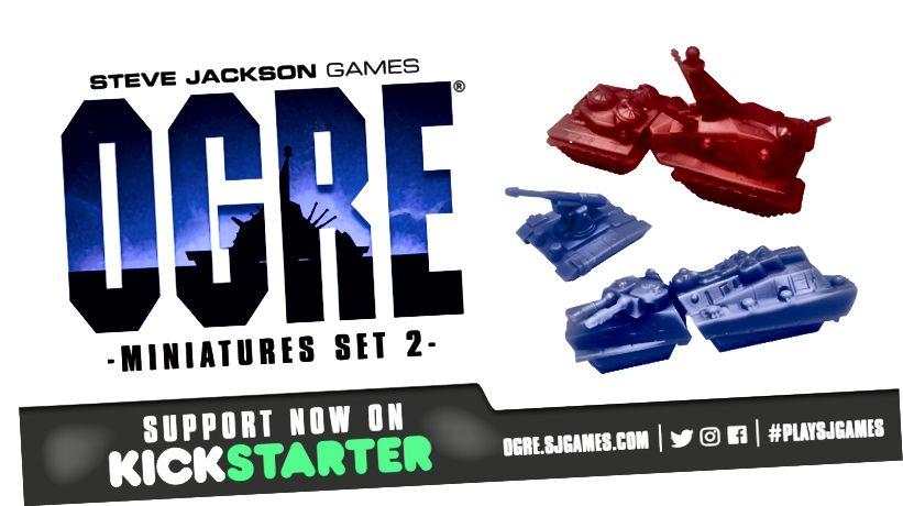 Ogre Miniatures Set 2 On Kickstarter