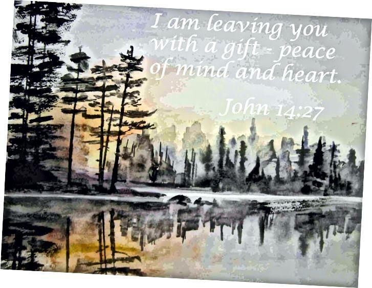 Akvarel od Janis Cox