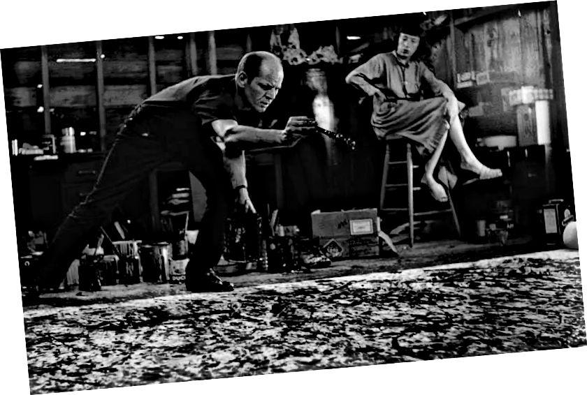 Pollock ve studiu