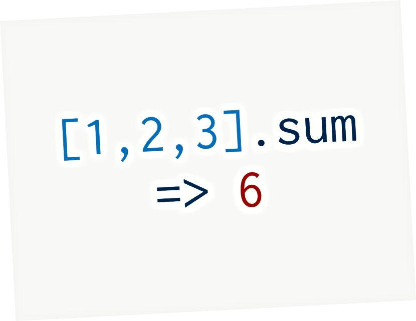 [1,2,3] .sum # => 6