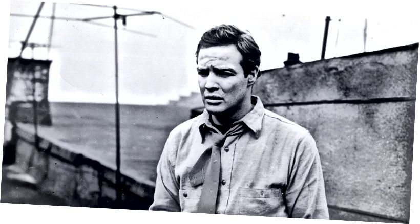 Մառլոն Բրանդոն `The Waterfront- ում (Էլիա Կազան, 1954)