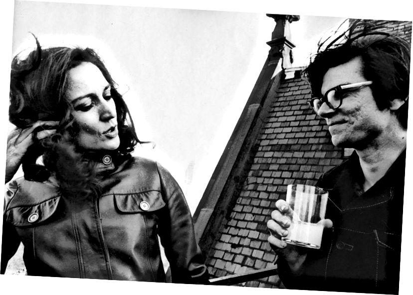 Virginia Dwan a Robert Smithson. Zdroj: ROLU.