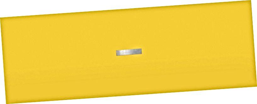 """Walter De Maria, """"Žlutý obraz / Barevní muži si vyberou, když útočí na Zemi"""" (01968). Zdroj: Menil."""