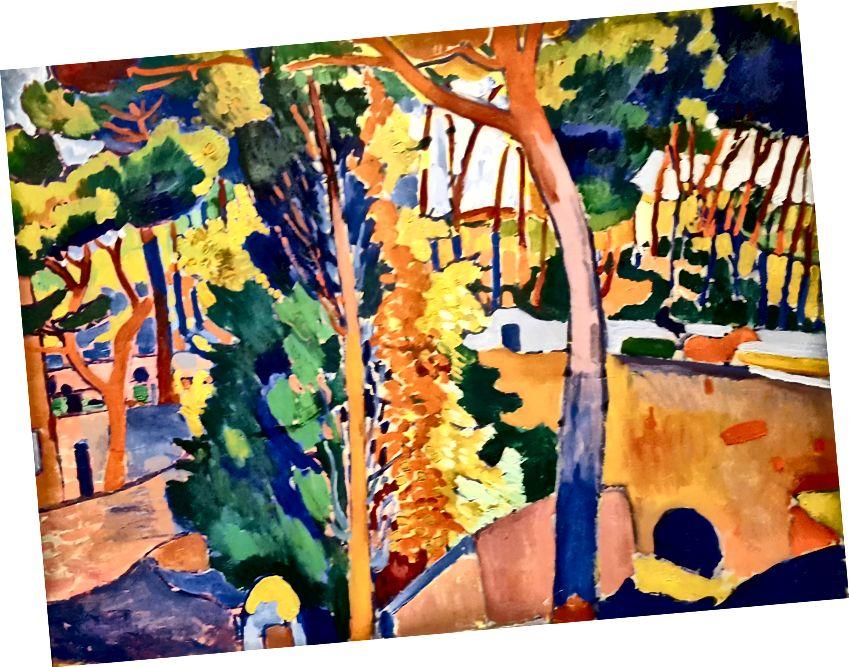 L to R: Stephen Brophy, Untitled (Landscape # 3), 1991, olej na plátně, 32